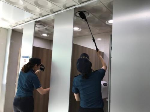 남양주경찰서와 성범죄 근절을 위한 '불법촬영 카메라 점검' 실시