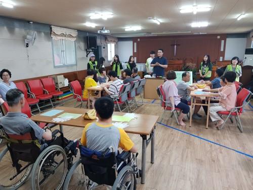 경복대학교 다솜누리봉사단, '지역사회 장애인을 위한 건강증진 프로그램' 봉사활동 실시